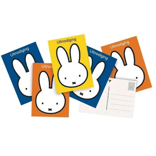 Image of Invitations Miffy, 6pcs.