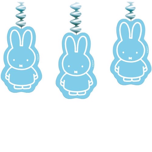 Image of Miffy dekoration 3 stk