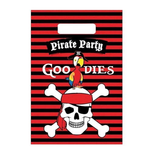 Portion bags pirates, 6pcs.