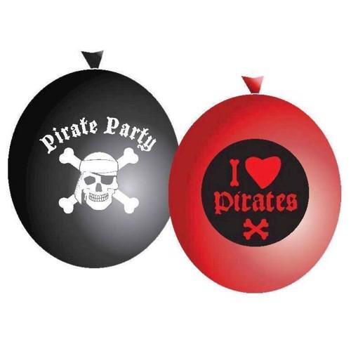 Image of   Balloons pirates, 6pcs.