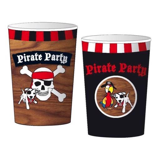 Image of Cups pirates, 8pcs.