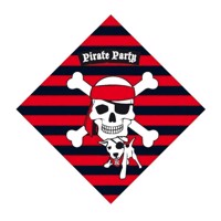 Napkins pirates, 20pcs.