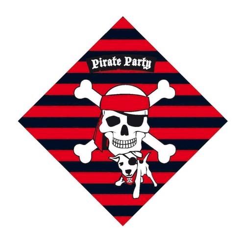 Image of   Napkins pirates, 20pcs.