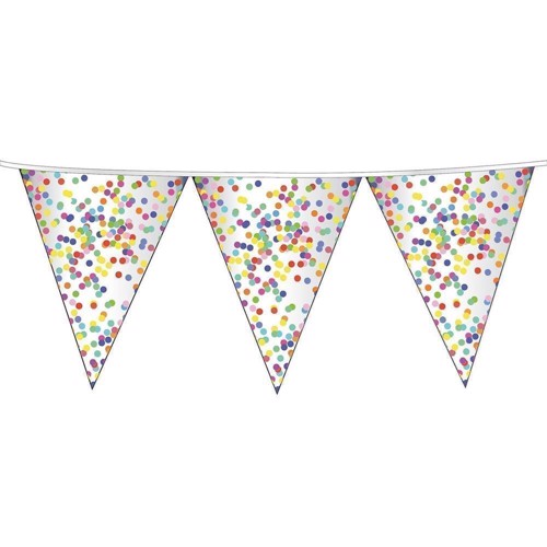 Image of Flags line Confetti, 6mtr.