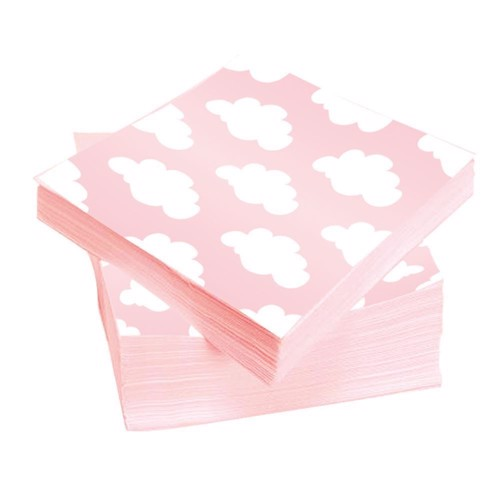 Image of Napkins Baby girl, 20pcs.