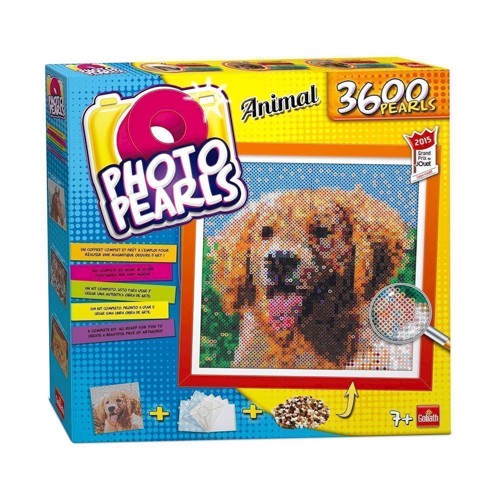 Image of Photo perler med hund 3600 stk