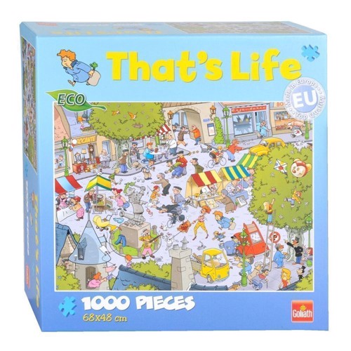 Image of   Thats Life-the French Square, 1000pcs.