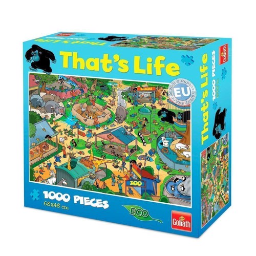 Image of   Thats Life-Zoo, 1000pcs.