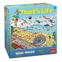 That's Life-On the beach, 1000pcs.