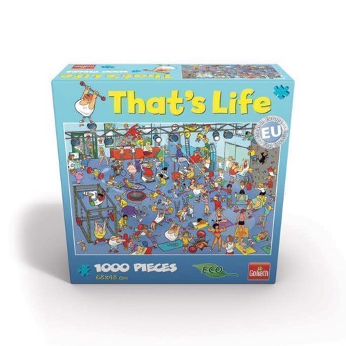 Image of   That's Life - The Sportschool, 1000pcs.