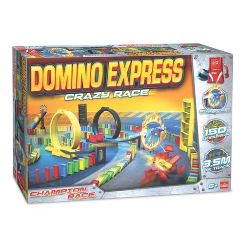 Image of Domino Express Crazy Race (8711808810082)