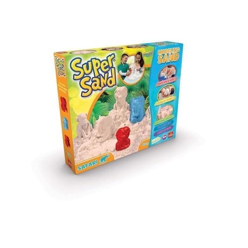 Image of Super Sand Safari sæt med magisk sand (8711808832251)