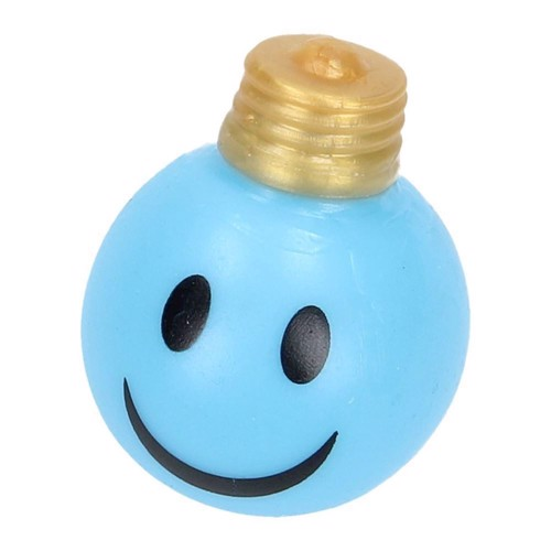 Image of   Splat Ball pære med smiley