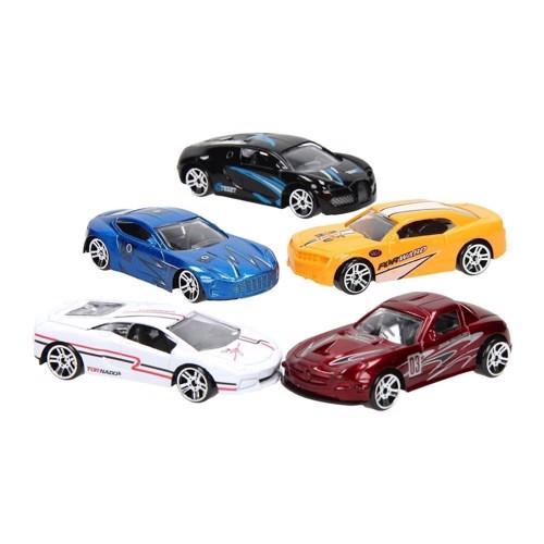 Image of Super Cars legetøjsbiler, 5 stk