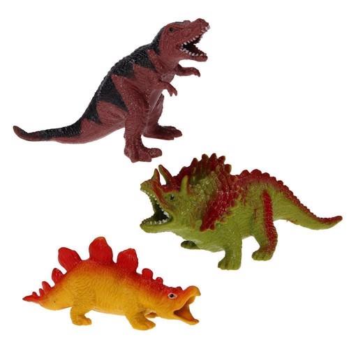 Image of Dinosaur, blød figur, assorterede, pris pr stk (8711866269594)