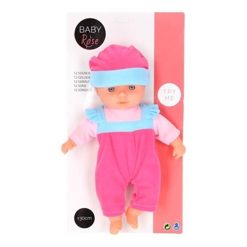 Image of   Baby Rose dukke med lyd, 30cm.