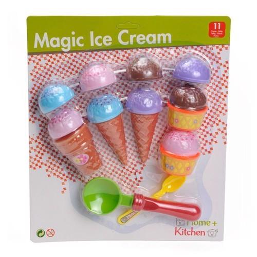 Image of   Home Kitchen Legetøj, legesæt med isvafler og isske