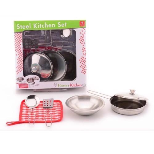 Image of   Home & Kitchen Kogesæt, legetøj, sæt i 6 dele