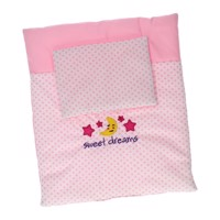 Baby Rose Doll blanket and cushion set