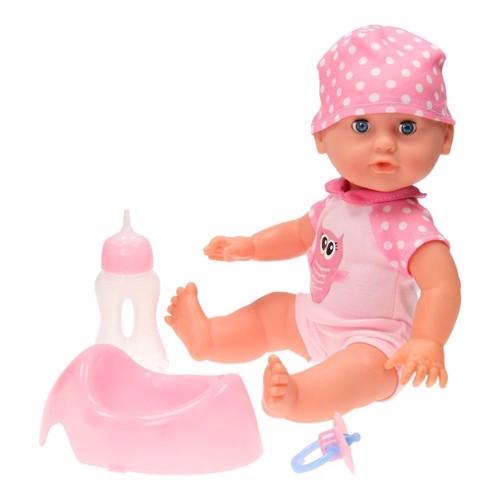 Image of   Baby Rose dukke med tilbehør, 35cm