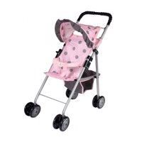 Baby Rose Doll stroller with sunshade