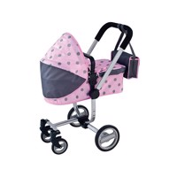 Baby Rose Luxury Stroller with Diaper Bag