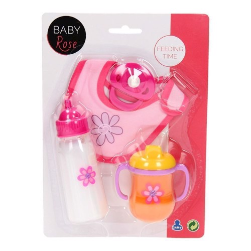 Image of   Baby Rose mad sæt til dukke