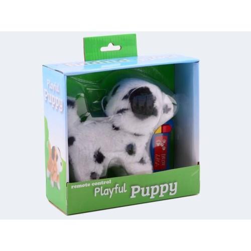 Image of   Hund, løbende, el, 15cm med lyd, ass. modeller.