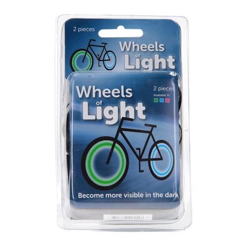 Image of LED lys til cykelhjul (8711866295548)