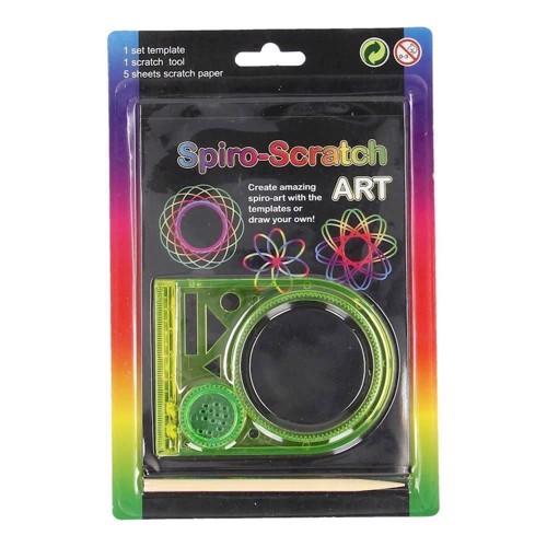 Image of   Spiro scratch - Lav Spyro kunst