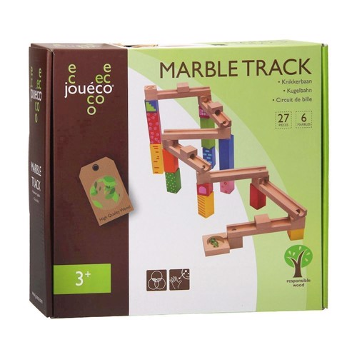 Image of   Joueco Wooden Marble Court, 33dlg