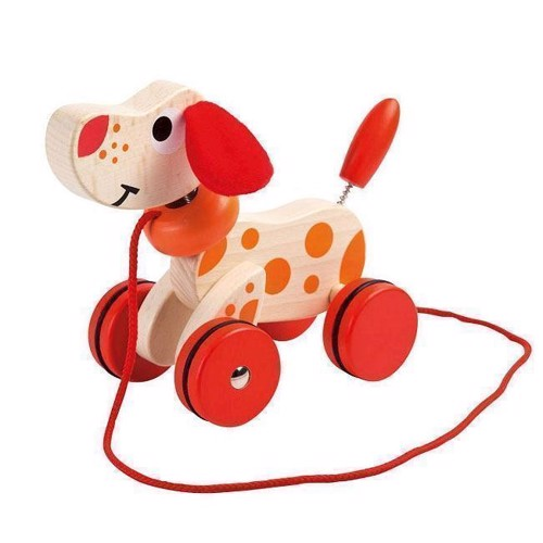 Image of Joueco Wooden Kwispel Doggy (8711866800469)