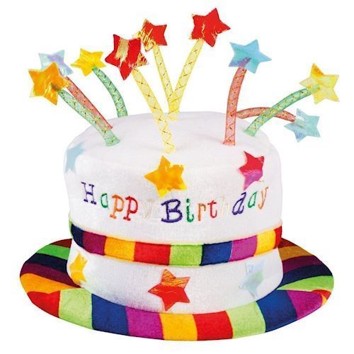 Image of Hat Happy Birthday (8712026009326)