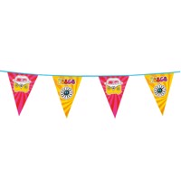 Flags line Hippie, 6mtr.