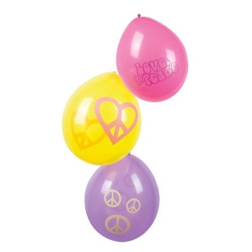 Image of   Balloons Hippie, 6pcs.