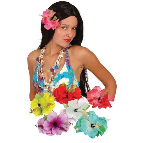 Hårspænde Blomst, festartikel