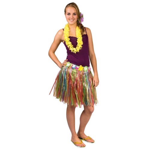 Image of   Hawaii skørt 40 cm