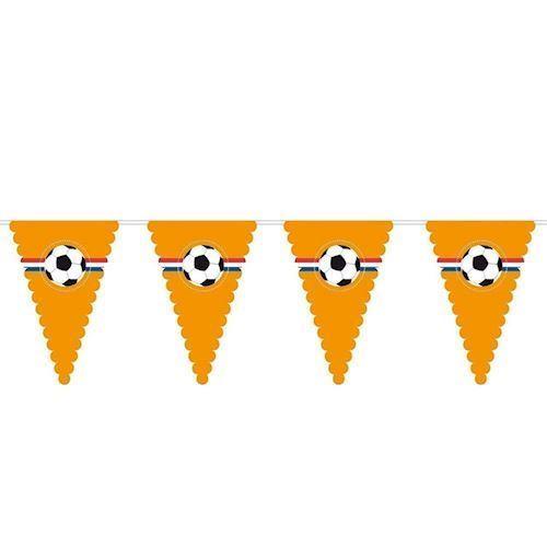 Image of   Orange fodbold flag, 8 meter