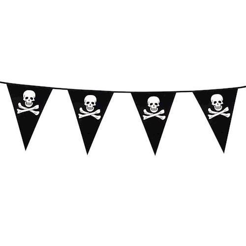 Image of   Banner / flagline, Pirater