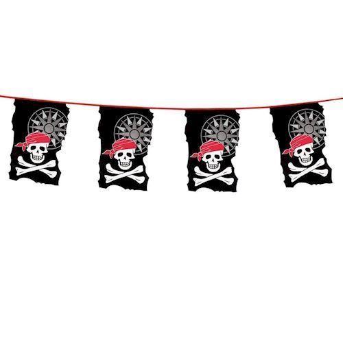 Flagline, banner, Pirat, 10 meter
