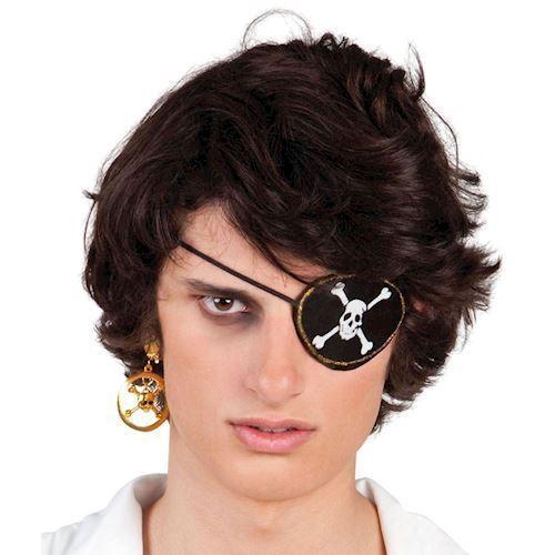 Udklædning, Pirat øjeklap og ørering