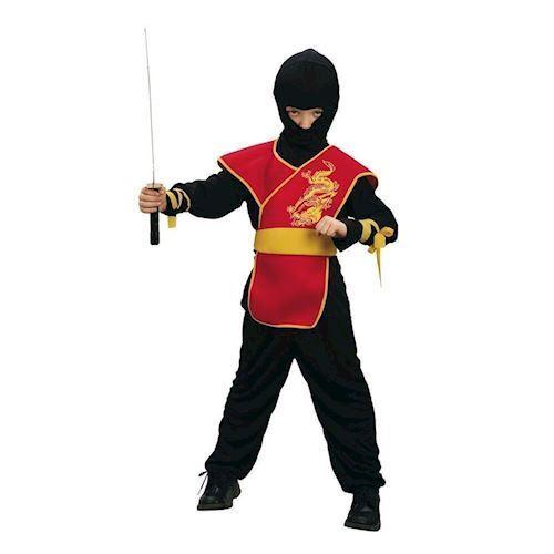 Image of   Ninja master udklædning 7-9 år