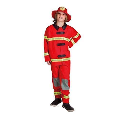 Image of   Udklædning, Brandmand, 4-6 År