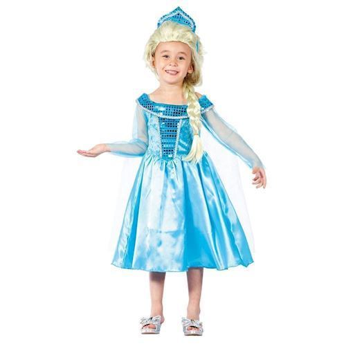 Image of Vinter prinsesse kostume 3-4 år