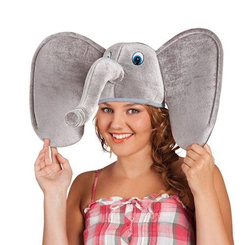 Image of   Udklædning, Hat, Elefant