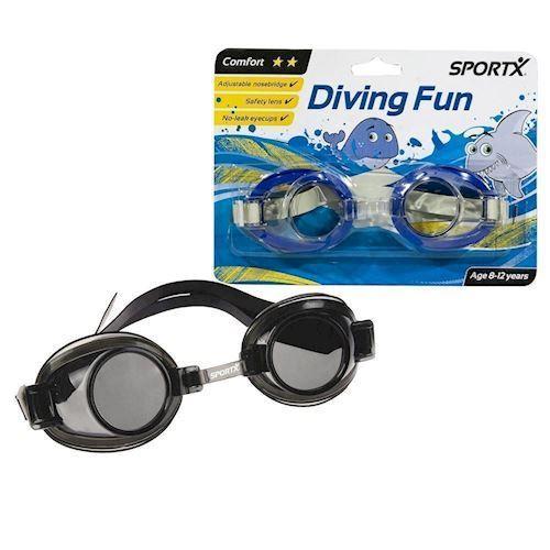Image of SportX Junior Svømmebriller (8712051205458)