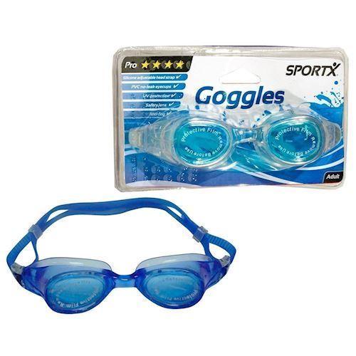 Image of SportX Voksen, pro, svømmebriller (8712051205489)