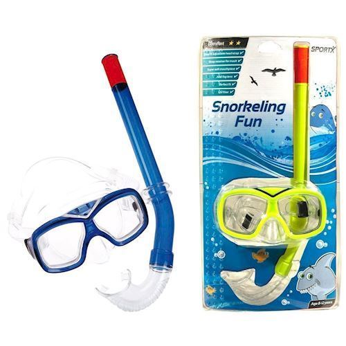 Image of SportX Junior Snorkel Sæt (8712051205533)