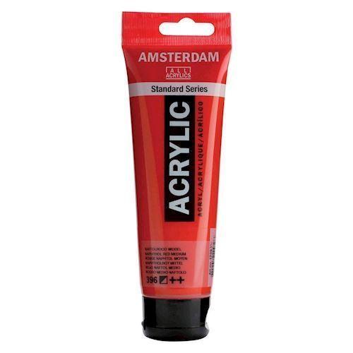 Image of   Amsterdam Akryl maling, Naftol rød, 120ml