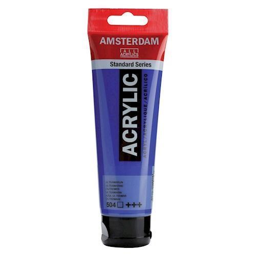 Image of   Amsterdam Akryl maling, Ultramarine, 120ml